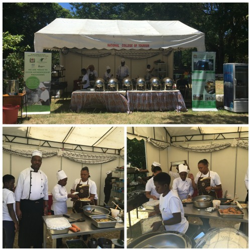 Main Catering Tent